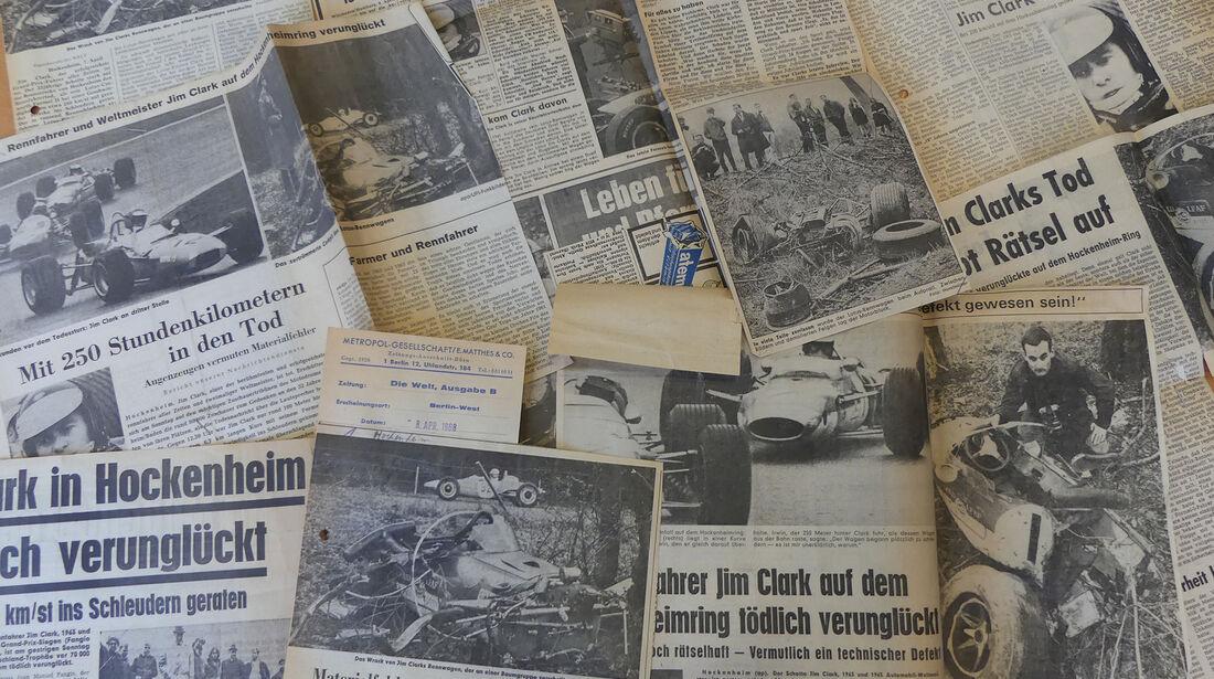 Jim Clark - Formel 2 - Hockenheim - 1968