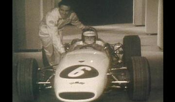 Jim Clark & Kurt Ahrens - ZDF - Aktuelles Sportstudio - 1968