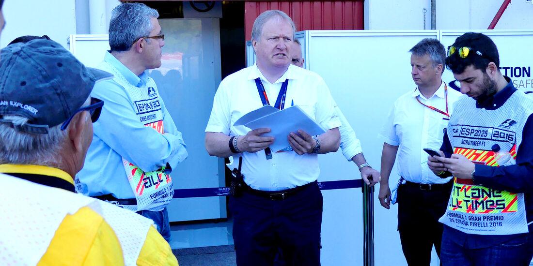 Jo Bauer - FIA - F1 - GP Spanien - Barcelona - Donnerstag - 12.5.2016