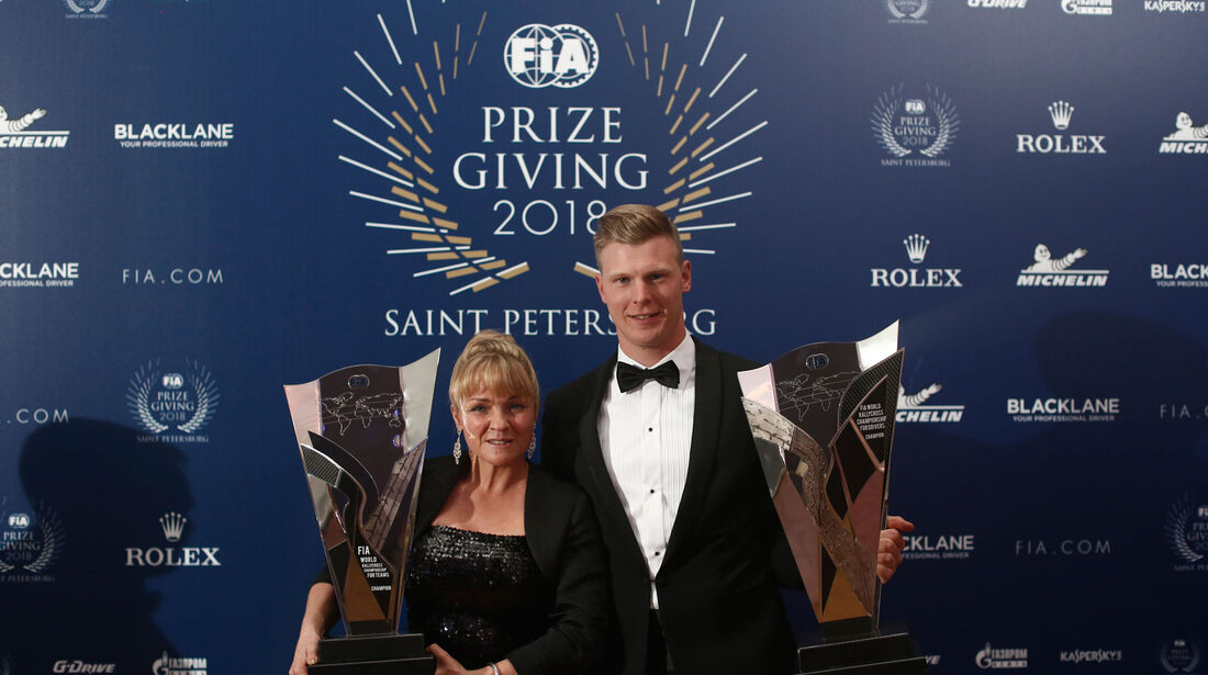 Johan Kristoffersson - FIA - Preisverleihung - St. Petersburg