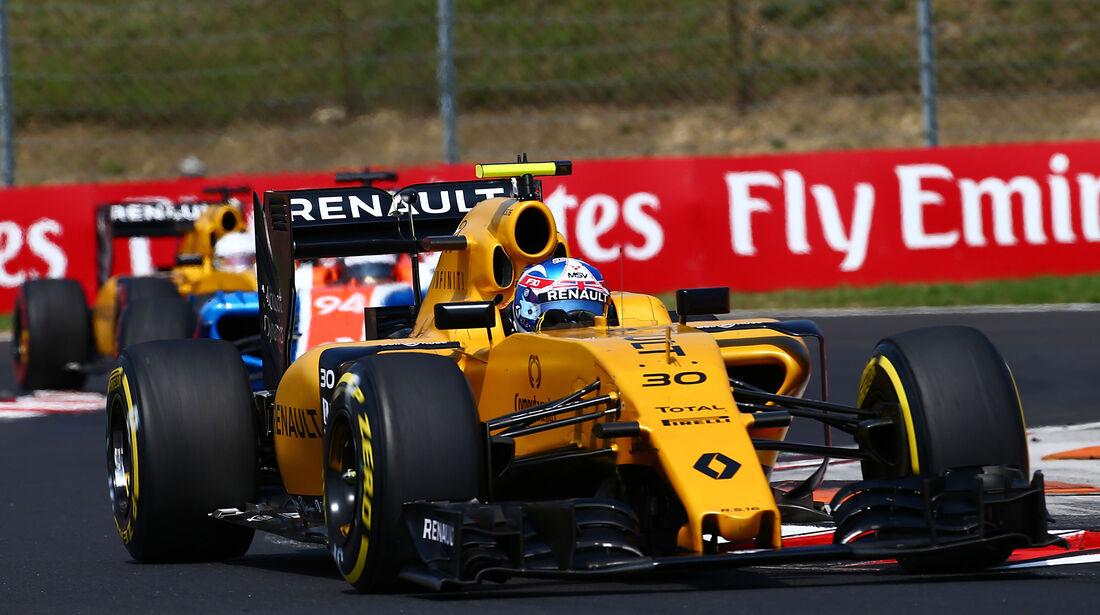Jolyon Palmer - Formel 1 - GP Ungarn 2016