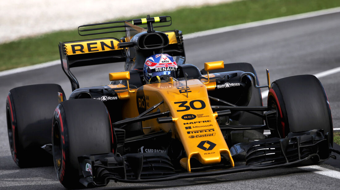 Jolyon Palmer - GP Malaysia 2017