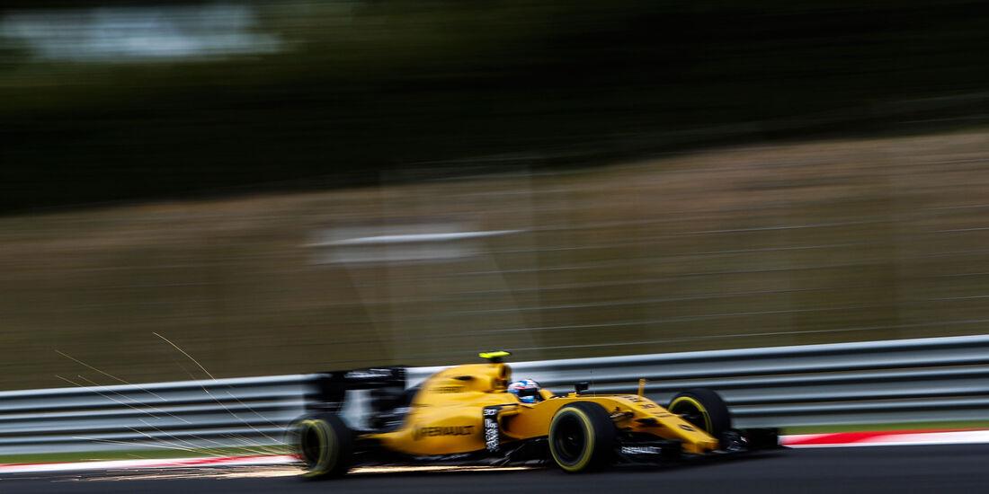 Jolyon Palmer - Renault - Formel 1 - GP Malaysia - Qualifying - 1. Oktober 2016