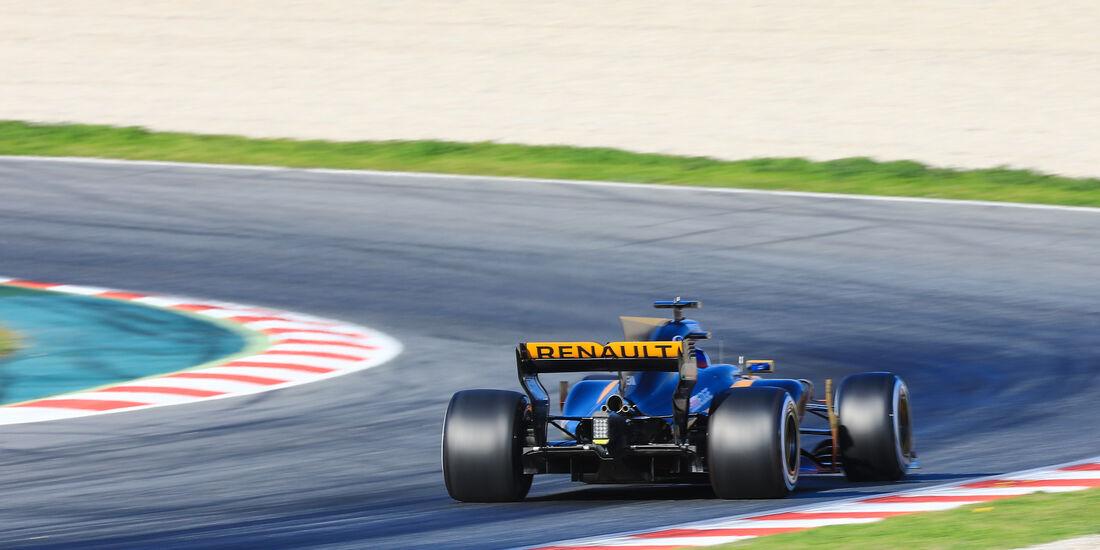 Jolyon Palmer - Renault - Formel 1 - Test - Barcelona - 2. März 2017
