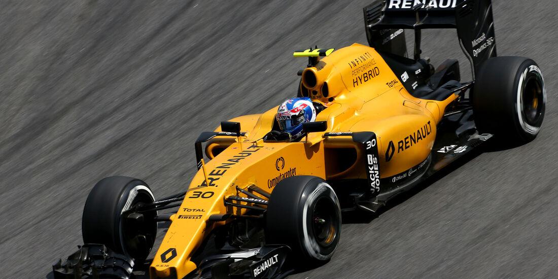 Jolyon Palmer - Renault - GP Brasilien - Interlagos - Freitag - 11.11.2016
