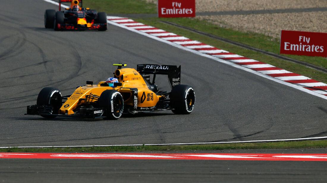 Jolyon Palmer - Renault - GP China 2016 - Shanghai - Rennen