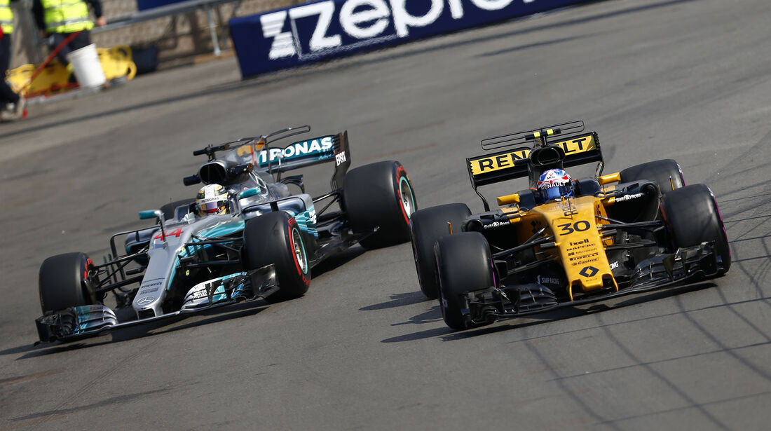 Jolyon Palmer - Renault - GP Monaco - Formel 1 - 25. Mai 2017