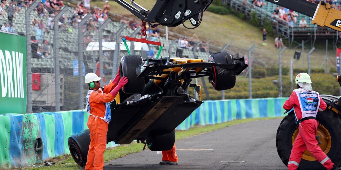 Jolyon Palmer - Renault - GP Ungarn - Budapest - Formel 1 - Freitag - 28.7.2017