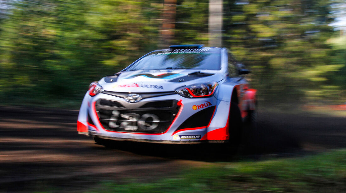 Juho Hänninen - Rallye Finnland 2014