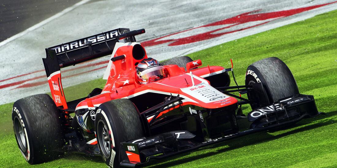 Jules Bianchi - Marussia - Formel 1 - GP Japan - 12. Oktober 2013