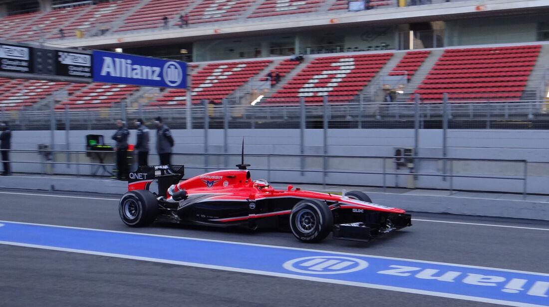 Jules Bianchi - Marussia - Formel 1 - Test - Barcelona - 2. März 2013