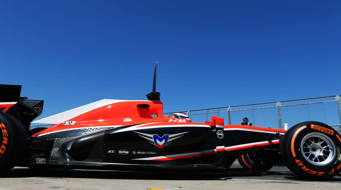 Jules Bianchi - Marussia - Young Drivers Test - Silverstone - 19. Juli 2013