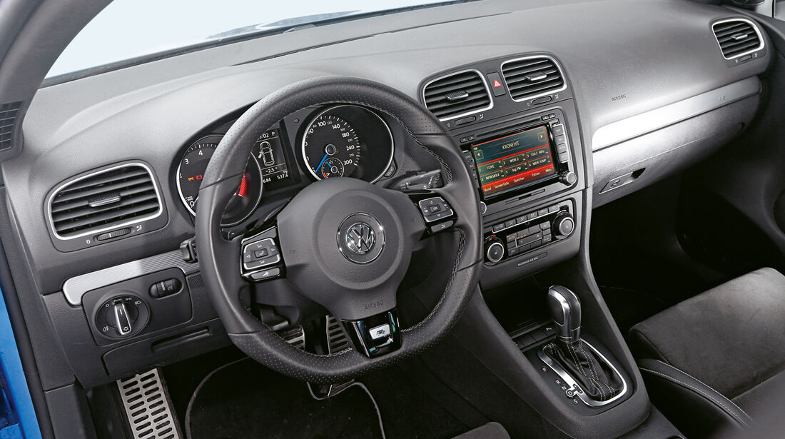 KL Racing-VW Golf R, Cockpit