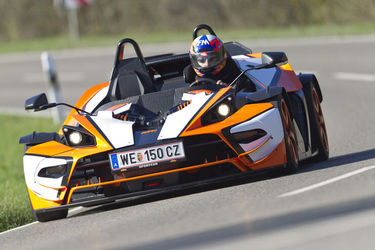 ktm x bow r im kurz test karbonflitzer mit 300 ps auto motor und sport. Black Bedroom Furniture Sets. Home Design Ideas