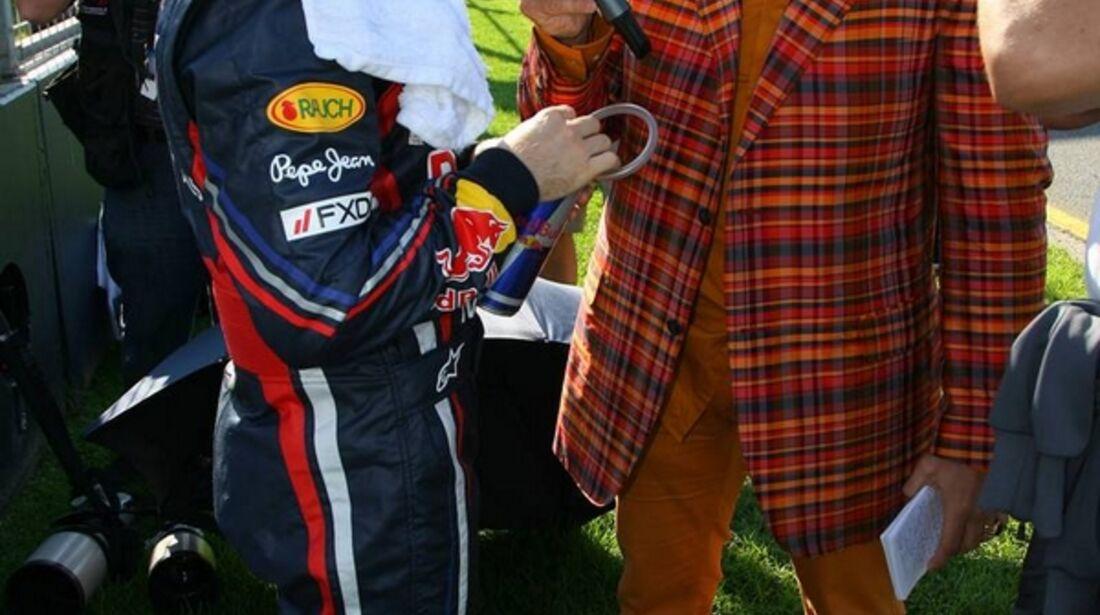 Kai Ebel Sebastian Vettel GP Malaysia 2011 Formel 1