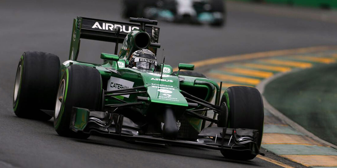 Kamui Kobayashi  - Formel 1 - GP Australien - 15. März 2014