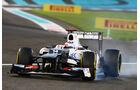 Kamui Kobayashi GP Abu Dhabi 2012