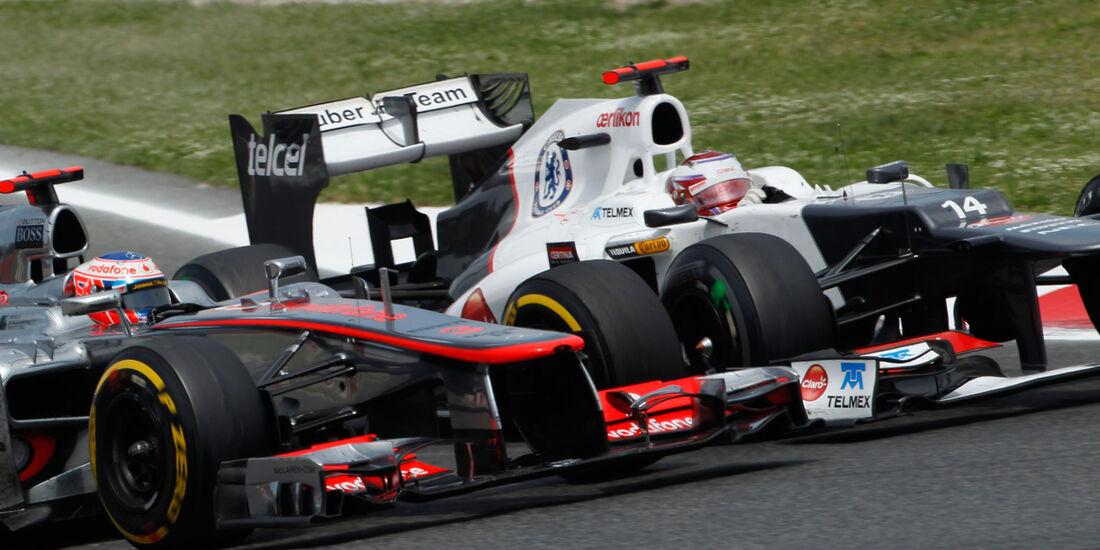 Kamui Kobayashi GP Spanien 2012