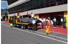 Kamui Kobayashi Sauber Formel 1 Mugello Test 2012