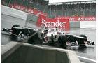 Kamui Kobayashi Sauber GP England 2012
