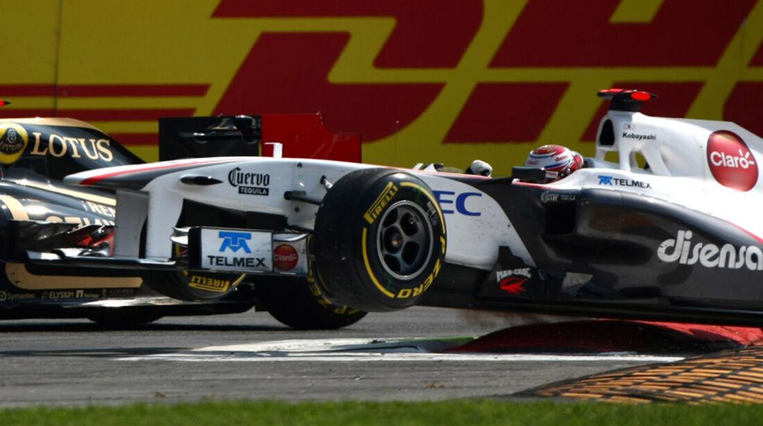 Kamui Kobayashi Sauber GP Italien 2011