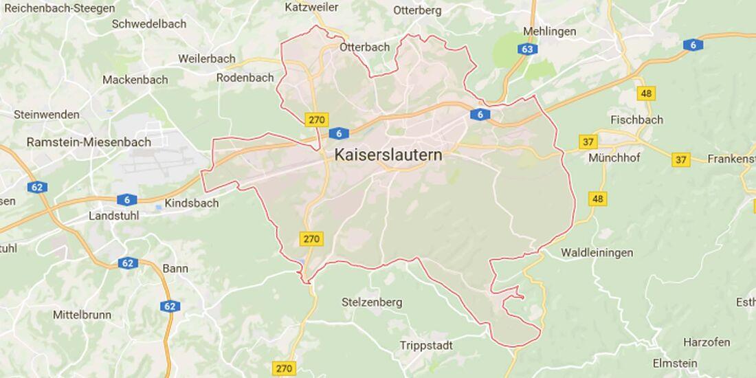 Karte Kaiserslautern