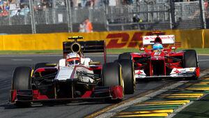 Karthikeyan & Alonso - GP Australien - Melbourne - 17. März 2012