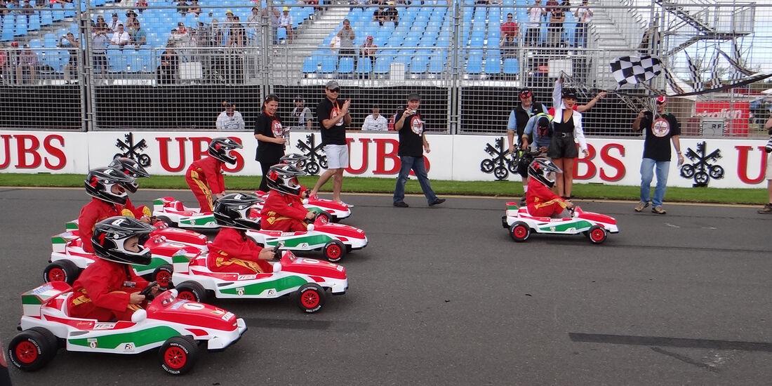Kartrennen GP Australien 2012