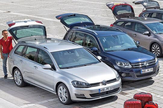 Kaufberatung VW Tiguan gegen VW Golf Variant