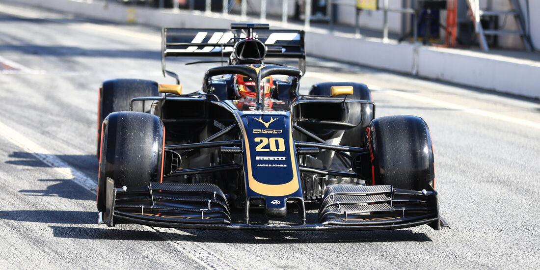 Kevin Magnussen - Haas - Barcelona - F1-Test - 28. Februar 2019