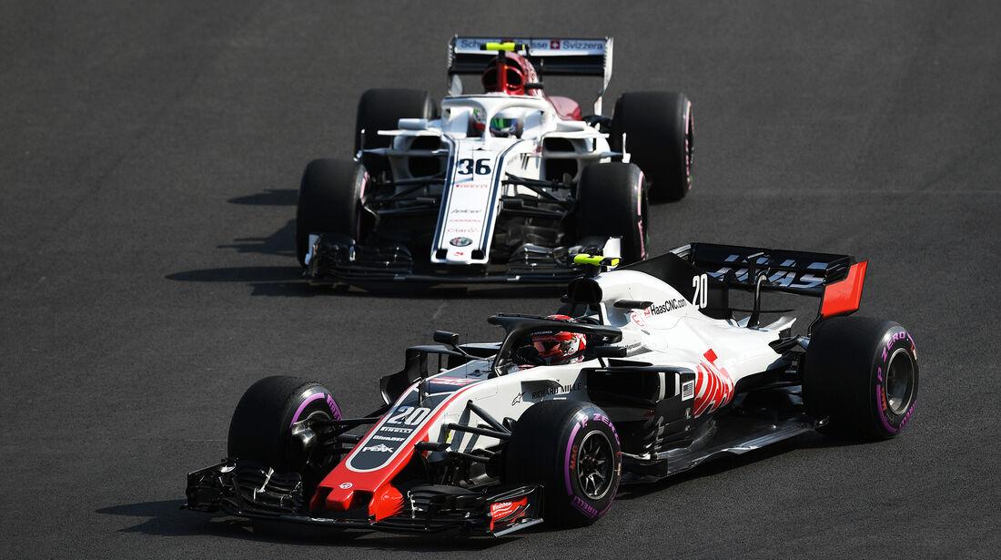 Kevin Magnussen - HaasF1  - Formel 1 - GP Mexiko - 26. Oktober 2018