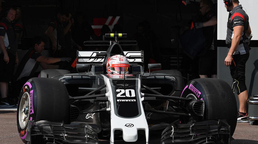 Kevin Magnussen - HaasF1 - Formel 1 - GP Monaco - 25. Mai 2017