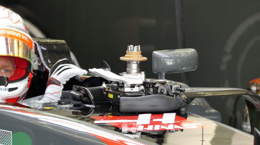 Kevin Magnussen - HaasF1 - Formel 1 - Testfahrten - Bahrain - Mittwoch - 19.4.2017