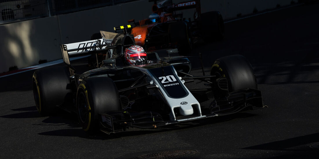 Kevin Magnussen - HaasF1 - GP Aserbaidschan 2017 - Baku - Rennen