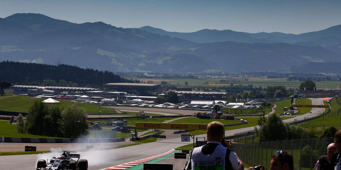 Kevin Magnussen - HaasF1 - GP Österreich - Spielberg - Formel 1 - Freitag - 7.7.2017