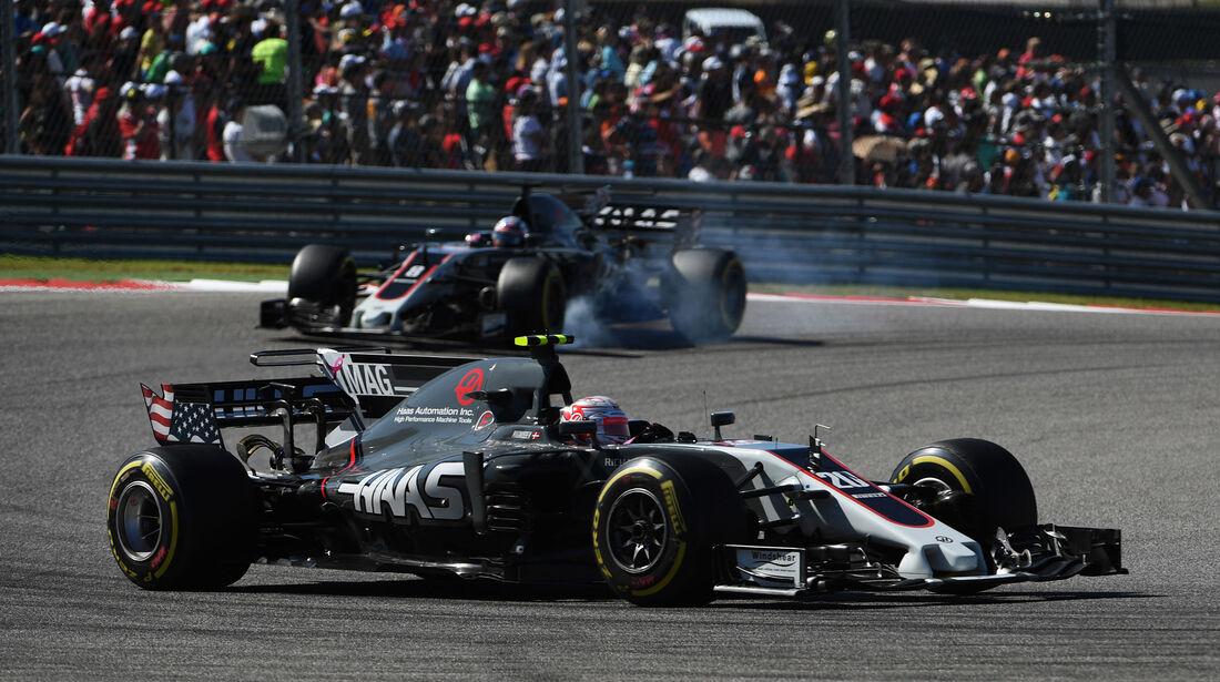 Kevin Magnussen - HaasF1 - GP USA 2017 - Rennen