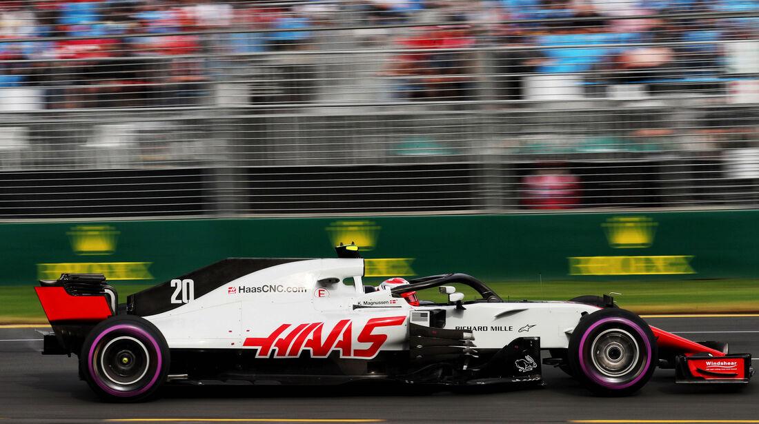 Kevin Magnussen - HaasF1 - Qualifying - GP Australien 2018 - Melbourne