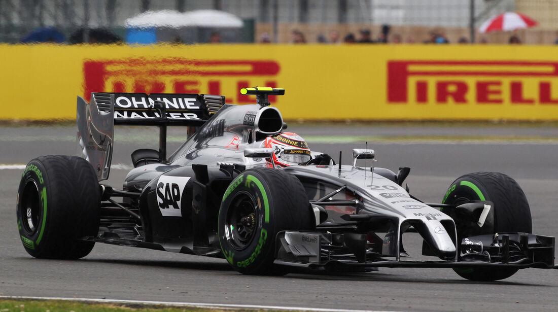 Kevin Magnussen - McLaren - Formel 1 - GP England - Silverstone - 5. Juli 2014