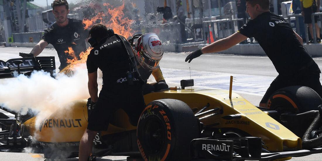Kevin Magnussen - Renault - Formel 1 - GP Malaysia - Freitag - 30.9.2016