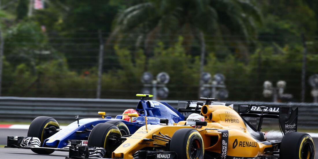 Kevin Magnussen - Renault - Formel 1 - GP Malaysia - Qualifying - 1. Oktober 2016