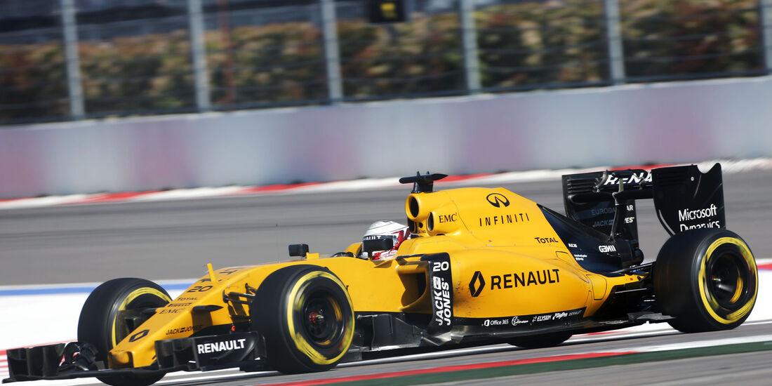 Kevin Magnussen - Renault - Formel 1 - GP Russland - 1. Mai 2016