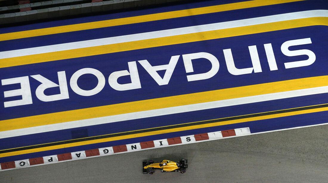 Kevin Magnussen - Renault - Formel 1 - GP Singapur - 17. September 2016