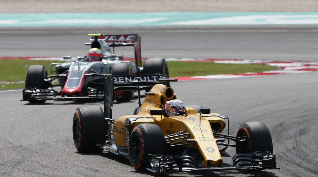 Kevin Magnussen - Renault - GP Malaysia 2016
