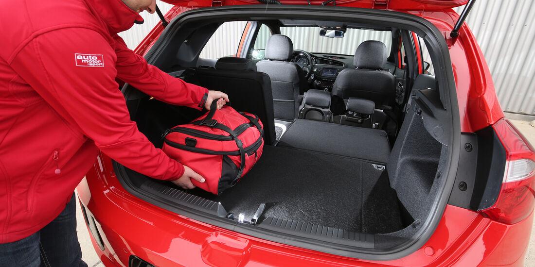 Kia Cee'd 1.0 T-GDI, Kofferraum