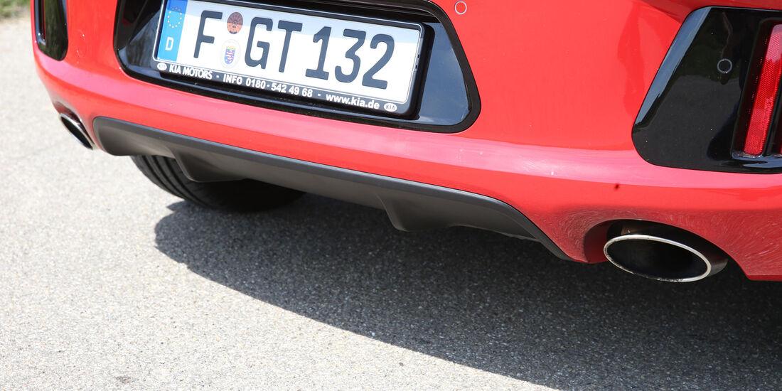 Kia Cee'd GT, Auspuff, Endrohr