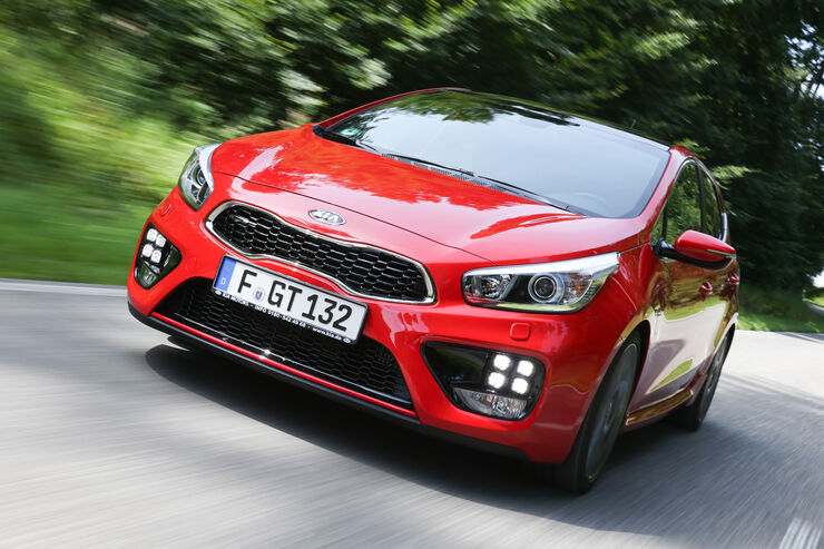 Kia Cee'd GT, Frontansicht