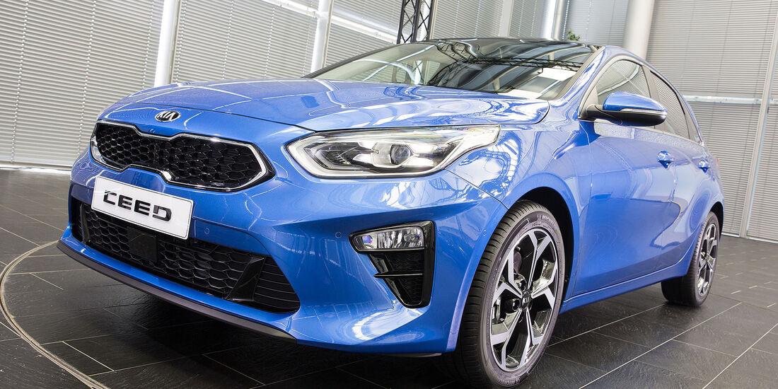 Kia Ceed 2018 Front
