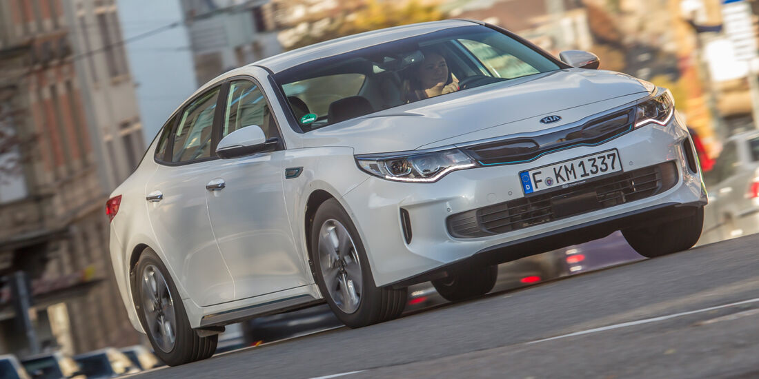 Kia Optima 2.0 GDI Plug-in, Frontansicht