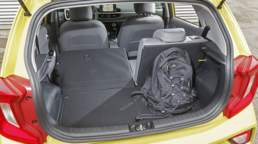Kia Picanto 1.0 T-GDI, Kofferraum
