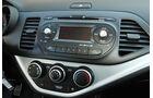 Kia Picanto 1.2, Mittelkonsole, Radio